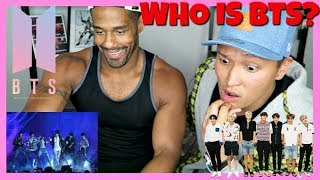 AMERICANS REACT TO BTS! (WHO IS BTS)