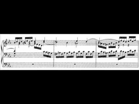 J.S. Bach - BWV 552 - Praeludium Es-dur / E-flat major