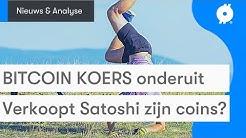 Bitcoin nieuws vandaag: KOERS daalt met 7 PROCENT | Coins van Satoshi verkocht? | Technische analyse