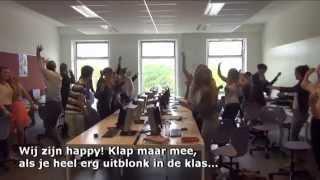happy diplomauitreiking 5 havo 2014 Lyceum Sancta Maria Haarlem