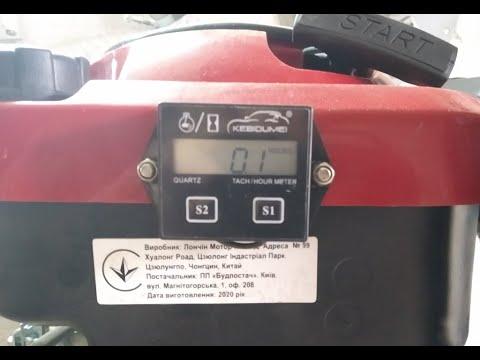 Обзор и подключение цифрового тахометра и счётчика моточасов