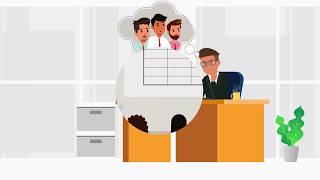 Visual BI ValQ Erklärer video | Sharp Eye-Animation portfolio