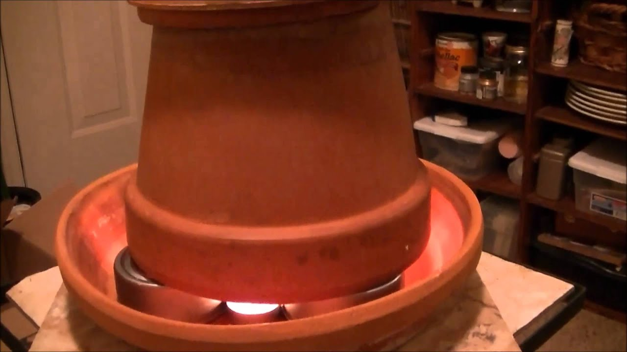 Cheap Heat From Metal Candles And Flower Pots Youtube