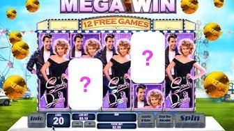 Mega Huge Win - Grease - Online Slot - Free Spins Bonus - $2Bet