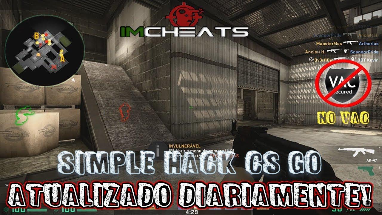 Simple Hack CS GO - 18 10 2018 - JHTB - Cheat, Hack, Bugs