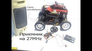 Сверхрегенеративный приймач на 27МГц,Сі-Бі, іграшки своїми руками.