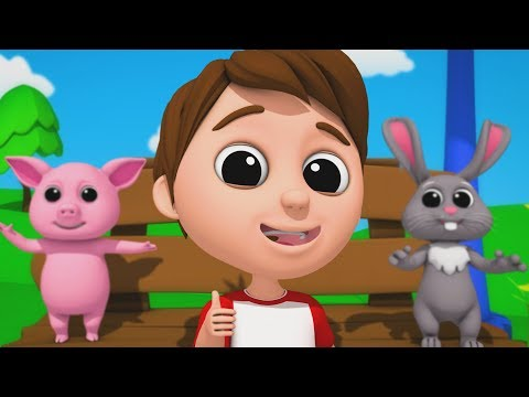 Luke & Lily - Jolly Good Fellow | Nursery Rhymes | 3D Songs | Video For Kids And Babies