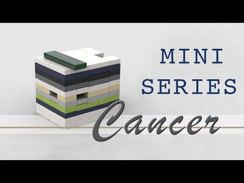 Design Series Minis: CANCER Lego Puzzle Box (easy)