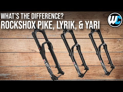 Rockshox Pike, Lyrik, Yari...What's the Difference???