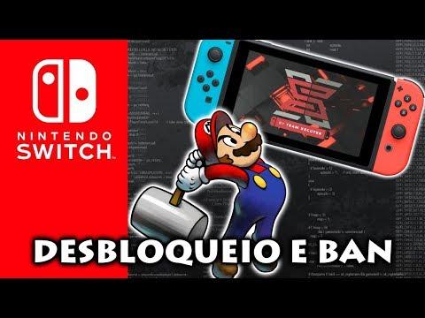 Novo desbloqueio do Nintendo Switch e a Nintendo dando BAN nervoso nos consoles