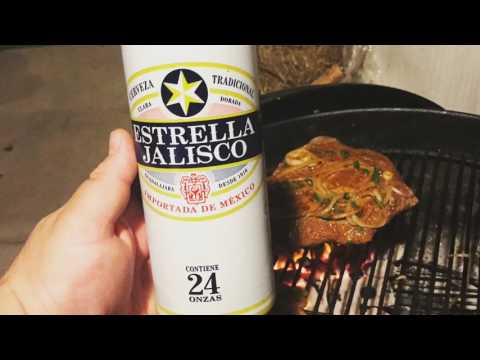 Big Mike shows you how to marinate some flank steaks for carne asada tacos