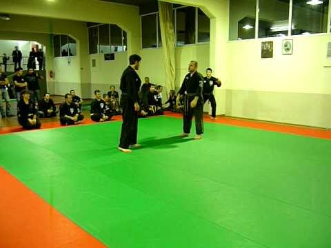 Kenpo karate 2, martial arts club demonstration