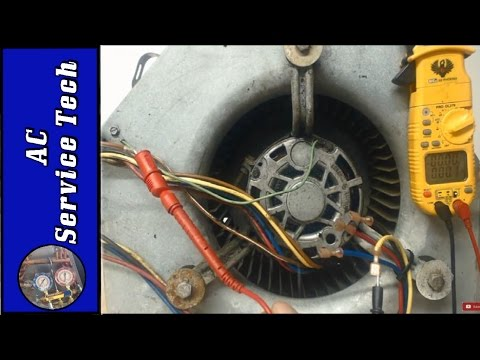 Step by Step Troubleshooting of a 240v Blower Fan Motor- 3 Speed, 1 Phase!