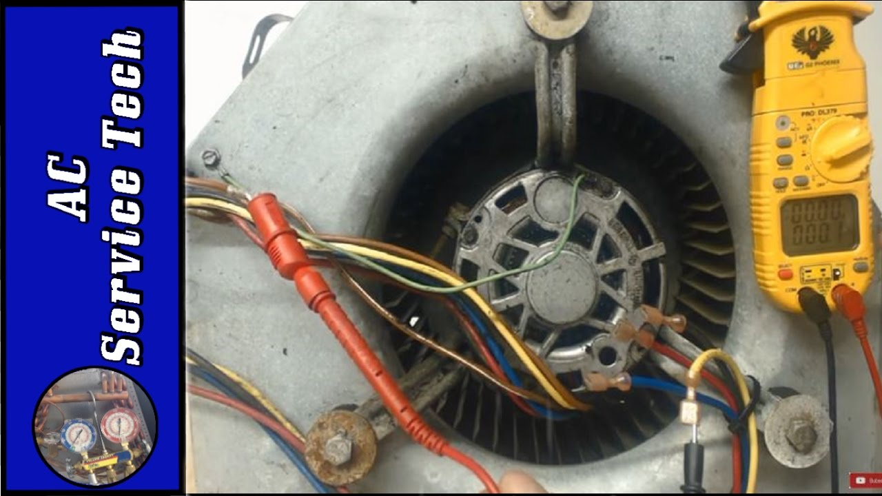 Step by Step Troubleshooting of a 240v Blower Fan Motor 3 Speed, 1 Phase!  YouTube