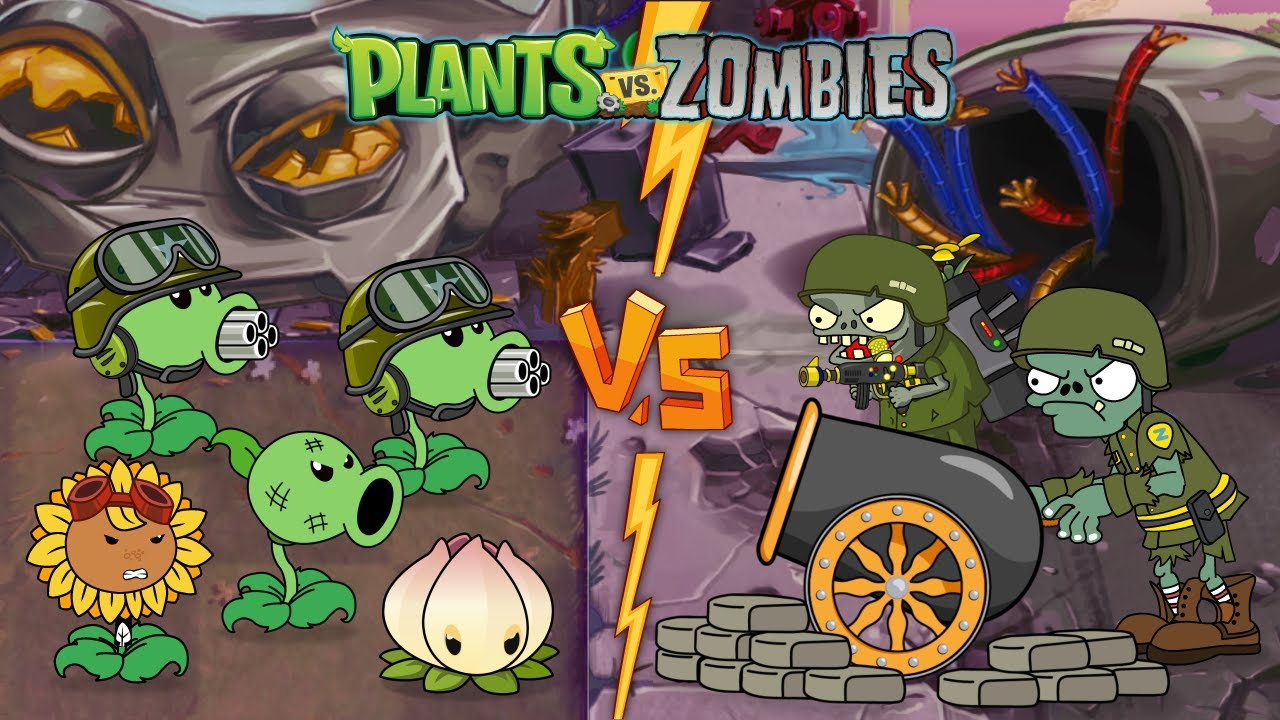 Plants vs Zombies Animation 2 Mega-Morphosis #2 (Series 2021)