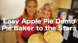 Apple Pie Recipe Demonstration With The Pie Lady
