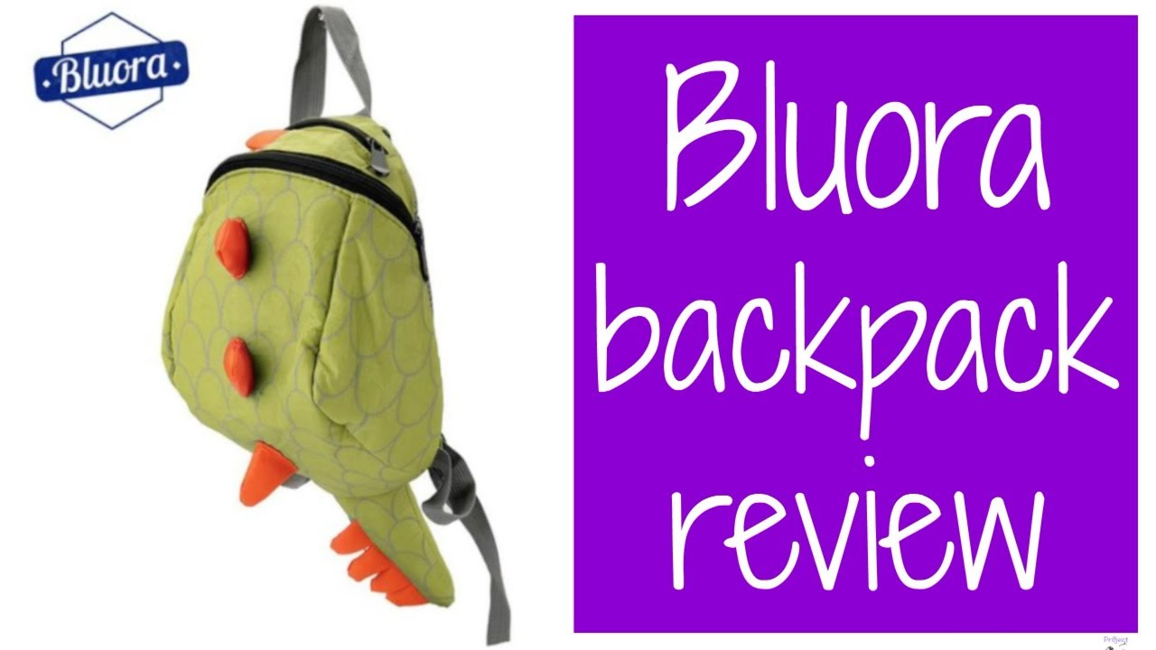 BLUORA DINOSAUR BACKPACK   Project Wink - YouTube c6815a7c29
