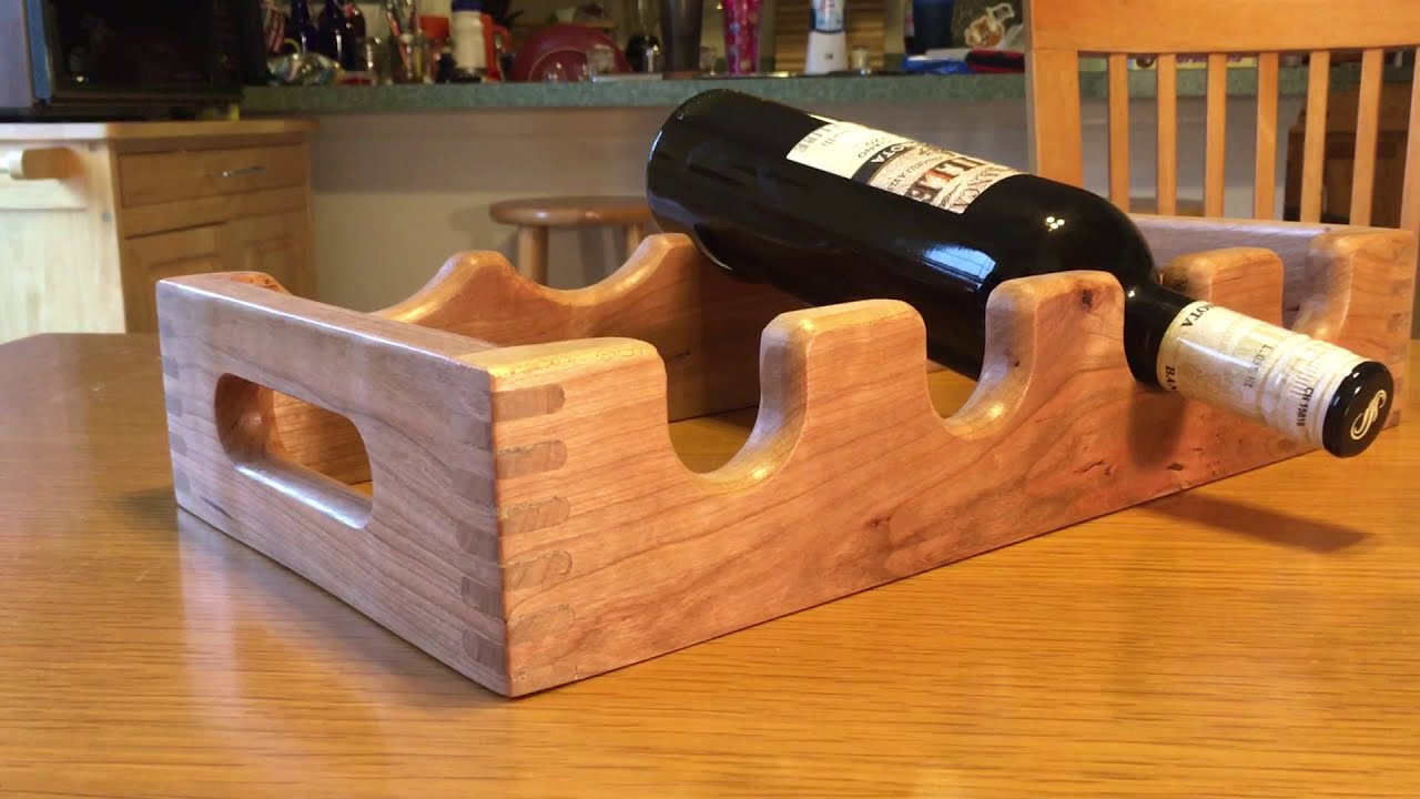 Making A Wine Rack With Box Joints Cnc Router Project