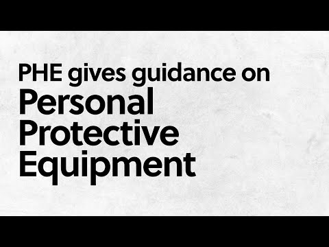 Public Health England Gives Guidance On Personal Protective Equipment For Optometrists