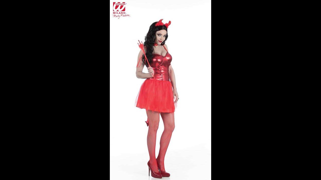 Rode Party Jurk.Rode Duivel Jurk Dames Youtube