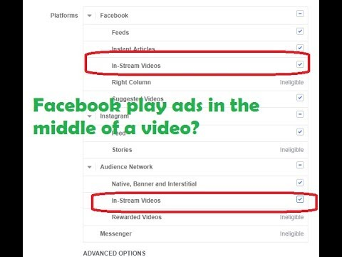 How insert ads in Middle of Facebook Videos | Facebook is Putting Ads in the Middle of Videos