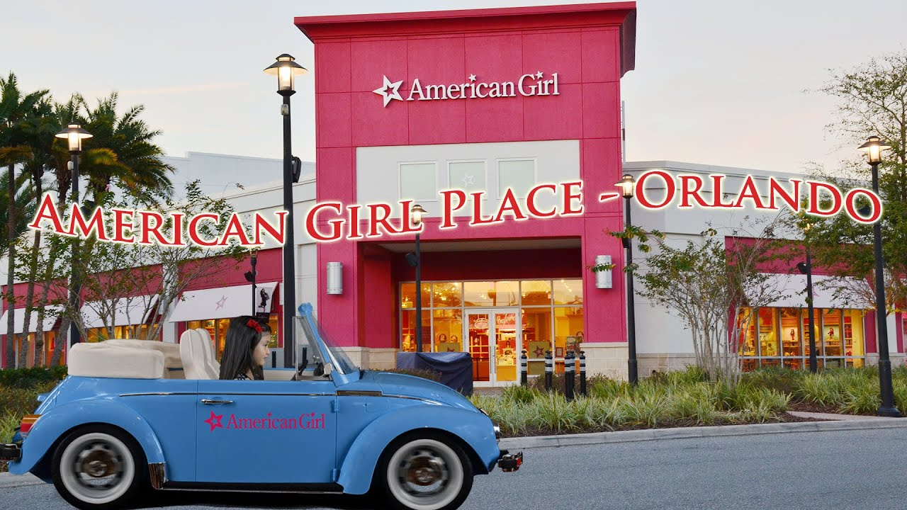Visit American Girl Place Florida Mall Orlando Youtube