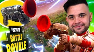 Fortnite : Finally I try the Rampino with The New Skin of the Medic