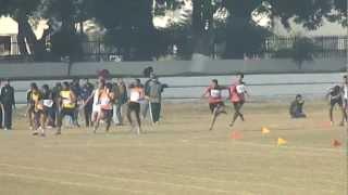 100X4 Relay Final 48th INTER IIT Sports Meet IIT Roorkee 2012