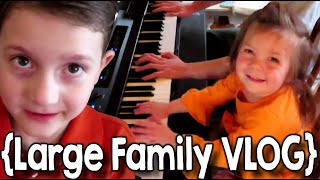 Bugs, Bubbles and Burgers ¦ Large Family Vlog ¦ May 2020 Part 2