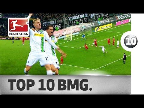 Top 10 - Goals Borussia Mönchengladbach - 2015/16