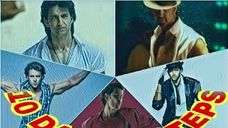 Hrithik Roshan 10 historical dance steps from his Bollywood movie's carrier