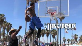 Dunk King Guy Dupuy INSANE Dunk Session @ Venice Beach! Video