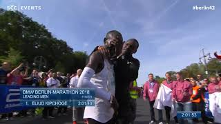 Marathon World Record smashed by Eliud Kipchoge - BERLIN MARATHON 2018