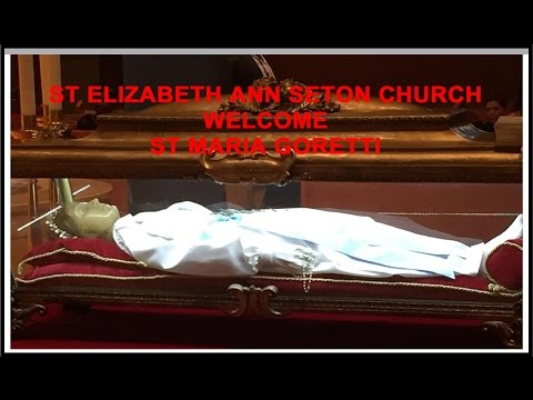 St MARIA GORETTI AT ST ELIZABETH ANN SETON CHURCH Nov 6 2015