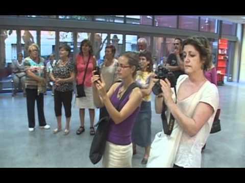 Una passejada per Horta, Escultures al Jardí i Pintant les paraules (22-09-2011)