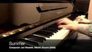 [2016-06-22] Summer - Joe Hisaishi - played by Kiki