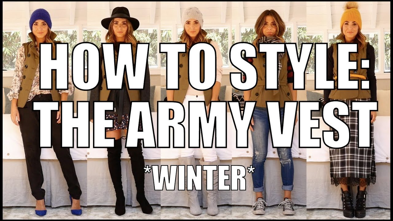 HOW TO WEAR A VEST (5 Fall Outfit Ideas)