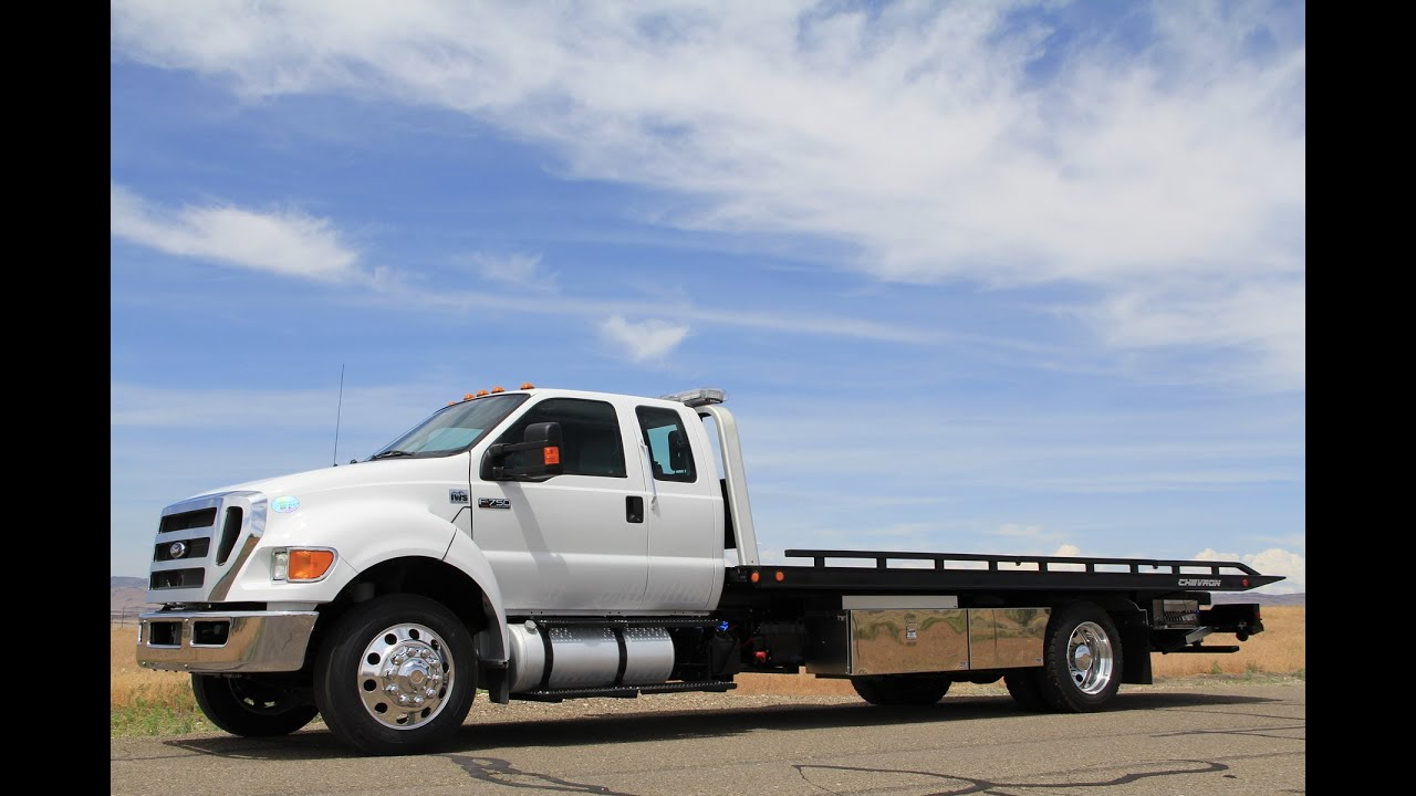 2015 Ford F750 Super Cab Xlt With Chevron Series 12 Lgc