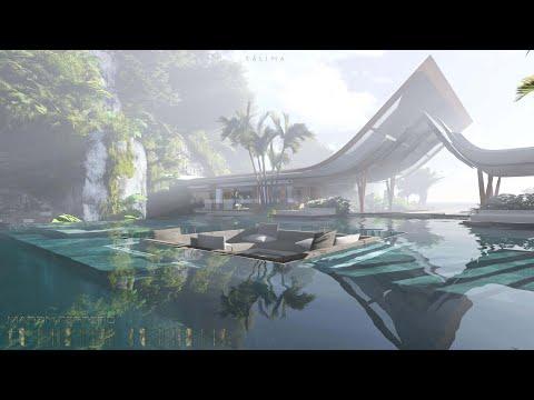 Xálima Island. The Water Pavilion