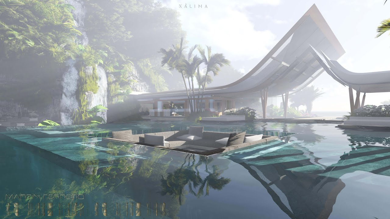 Xalima xálima island. the water pavilion - youtube