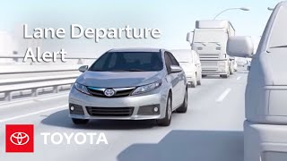Toyota Safety Sense ™ Lane Departure Alert (LDA) | Select Models | Toyota