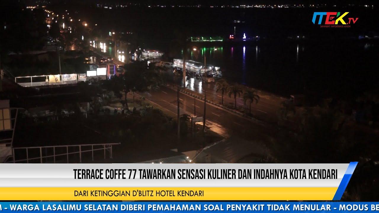 Terrace Coffe 77 Tawarkan Sensasi Kuliner dan Indahnya Kota Kendari