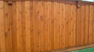 Sungreen Fence Wood Privacy Fence Dallas fence repair cedar wood privacy company plano texas
