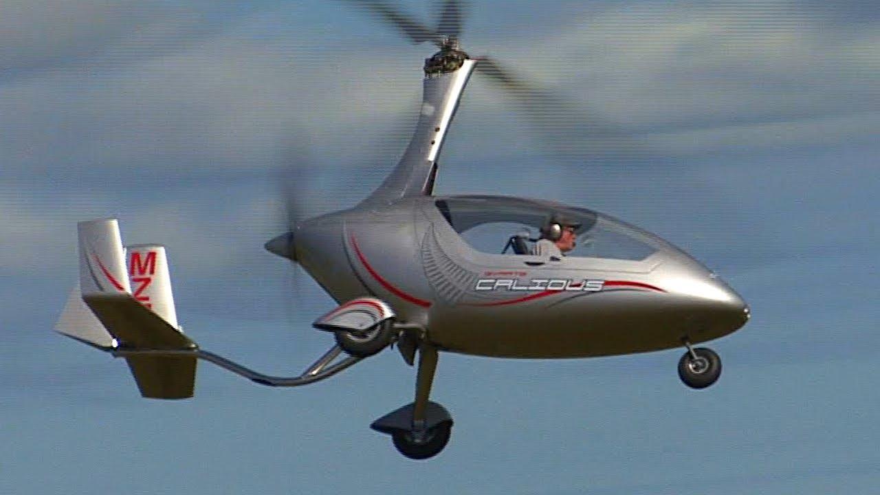 Calidus Gyrocopter at Ohakea - YouTube