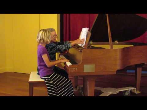 Piano Balancing Chords, Rocky Top