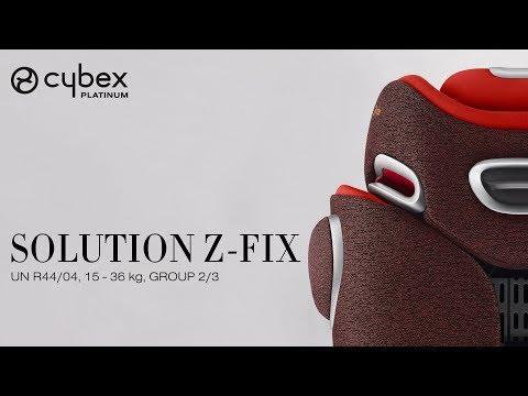 CYBEX Solution Z-Fix Tutorial