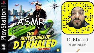 (ASMR) DJ KHALED SNAPCHAT
