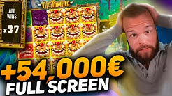 Streamer Record win 54.000€ on Tiki Tumble slot - TOP 5 Mega wins of the week