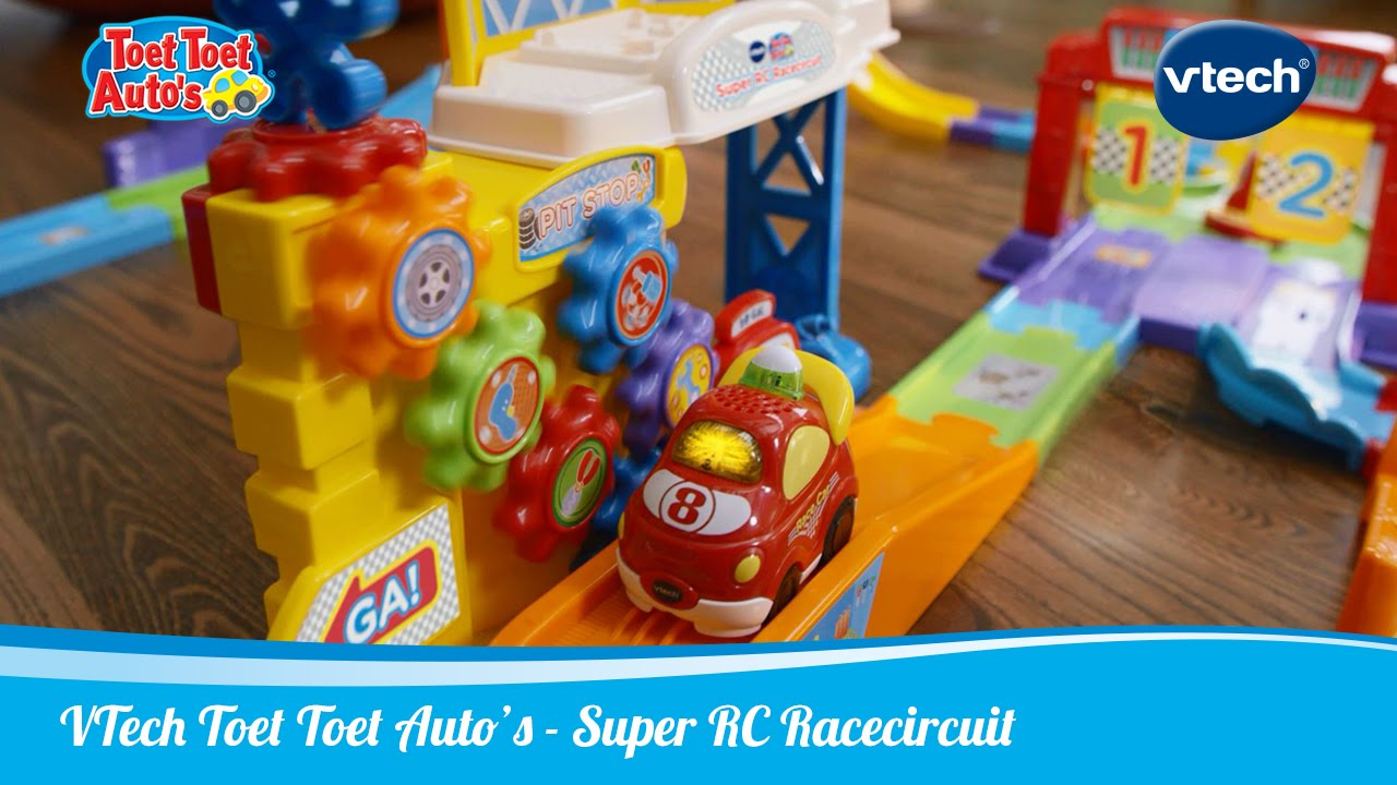 Toet Toet Garage : Toet toet auto s super rc racecircuit vtech speelgoed youtube