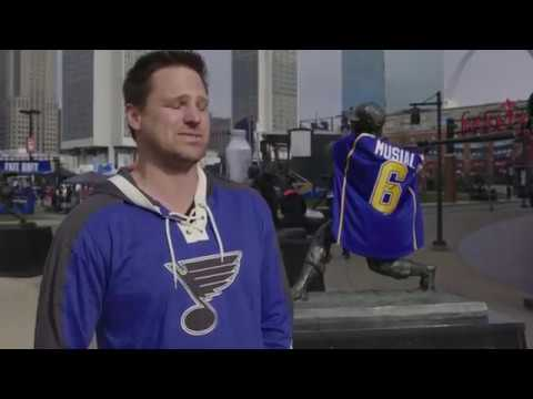 Stan Musial St  Louis Blues Fan